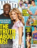 Delta Goodrem, Seal on the cover of Who (Australia) - April 2013