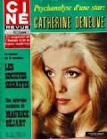 Catherine Deneuve on the cover of Cine Revue (France) - September 1969