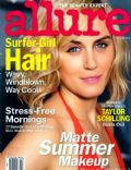 Taylor Schilling on the cover of Allure (United States) - July 2014