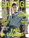 Coco Martin on the cover of Garage (Philippines) - October 2010