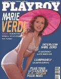 Maria Verdi on the cover of Playboy (France) - January 1997