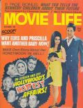 Elvis Presley, Priscilla Presley, Priscilla Presley and Elvis Presley on the cover of Movie Life (United States) - October 1968