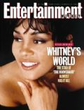 Whitney Houston on the cover of Entertainment Weekly (United States) - February 1993