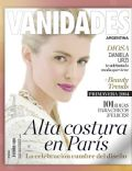 Daniela Urzi on the cover of Vanidades (Argentina) - August 2014