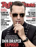 Jon Hamm on the cover of Rolling Stone (United States) - April 2013