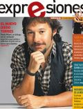 Diego Torres on the cover of Expresiones (Ecuador) - February 2011