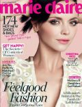 Christina Ricci on the cover of Marie Claire (United Kingdom) - April 2012