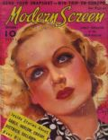 Carole Lombard on the cover of Modern Screen (United States) - September 1936