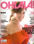 Andrea Pietra on the cover of Ohlala (Argentina) - November 2008