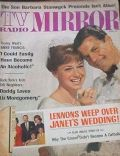 Janet Lennon on the cover of TV Radio Mirror (United States) - June 1966