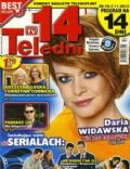 Daria Widawska on the cover of Ekran TV (Poland) - October 2013