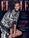 Liya Kebede on the cover of Elle (Indonesia) - July 2014
