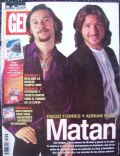 Adrian Suar, Diego Torres on the cover of Gente (Argentina) - July 1997