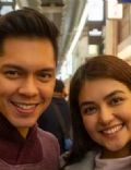 Carlo Aquino and Trina Candaza