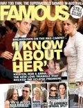 Kristen Stewart, Robert Pattinson, Robert Pattinson and Kristen Stewart on the cover of Famous (Australia) - July 2010