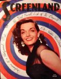 Jane Russell on the cover of Screenland (United States) - July 1952
