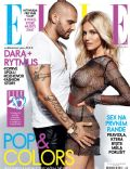 Dara Rolins, Rytmus on the cover of Elle (Czech Republic) - August 2014