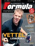 Sebastian Vettel on the cover of Formula Magazine (Hungary) - March 2008