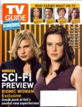 Katee Sackhoff, Michelle Ryan on the cover of TV Guide (United States) - July 2007