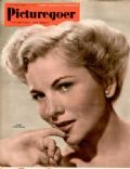 Joan Fontaine on the cover of Picturegoer (United Kingdom) - February 1951