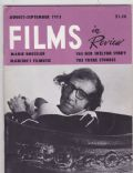 Films in Review Magazine [United States] (August 1975)