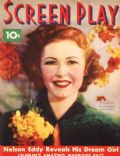 Josephine Hutchinson on the cover of Screen Play (United States) - October 1936