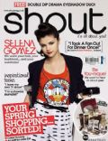 Selena Gomez on the cover of Shout (United Kingdom) - May 2011