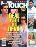 Angelina Jolie, Angelina Jolie and Brad Pitt, Brad Pitt, Jennifer Aniston, Kourtney Kardashian, Kourtney Kardashian and Scott Disick, Matthew Fox, Scott Disick on the cover of In Touch Weekly (United States) - March 2010