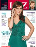 Andrea Pietra on the cover of Luz (Argentina) - July 2008