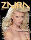 Nicole Neumann on the cover of Zaira (Argentina) - September 2012