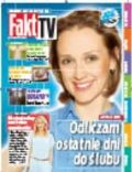 Anna Gzyra on the cover of Fakt TV (Poland) - July 2014
