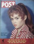 Brigitte Bardot on the cover of Picture Post (United Kingdom) - July 1955