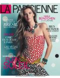 Gisele Bündchen on the cover of La Parisienne (France) - July 2014