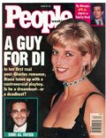 Princess Diana on the cover of People Weekly (United States) - August 1997