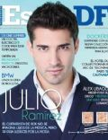 Julio Ramírez on the cover of Estilo Df (Mexico) - April 2014