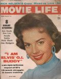 Natalie Wood on the cover of Movie Life (United States) - July 1958