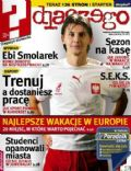 Euzebiusz Smolarek on the cover of Dlaczego (Poland) - June 2006