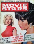Elizabeth Taylor, Marilyn Monroe on the cover of Movie Stars (United States) - December 1962
