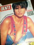 Carolina Pelleritti on the cover of Gente (Argentina) - February 1992