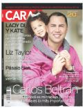 Carlos Beltran on the cover of Caras (Puerto Rico) - July 2011