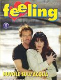 Sonia de Gaudenz on the cover of Feeling (Italy) - July 1996