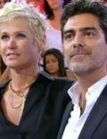 Xuxa Meneghel and Junno Andrade