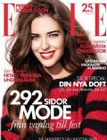 on the cover of Elle (Sweden) - December 2013