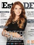 Maritere Alessandri on the cover of Estilo Df (Mexico) - May 2014