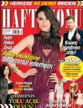 Ayse Hatun Önal on the cover of Haftasonu (Turkey) - April 2014