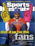 Chris Rock on the cover of Sports Illustrated (United States) - December 2000