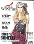 Cecilia Boneli on the cover of Fashion Way Magazine (Argentina) - May 2011