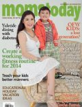 Camille Prats on the cover of Momstoday (Philippines) - November 2013