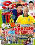 Lionel Messi, Robert Lewandowski on the cover of Bravo Sport (Poland) - April 2013