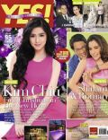 John Lloyd Cruz, Kim Chiu, Pops Fernandez, Roman Romulo, Shaina Magdayao, Shalani Soledad on the cover of Yes (Philippines) - December 2011